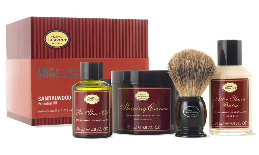 <p>Bring glamour back with this debonair shave set</p>
