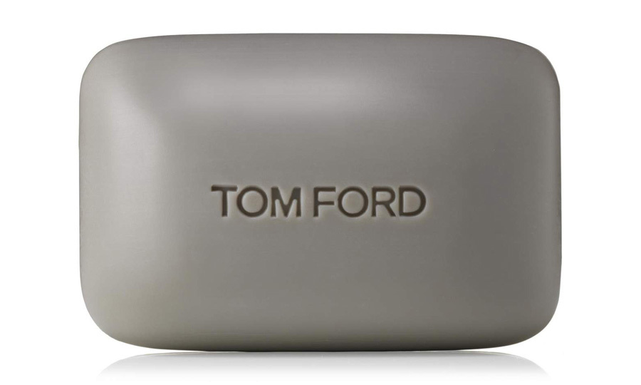 "<strong>Tom Ford Oud Wood Bath Soap</strong>, $35, <a href=""http://tomford.com"" target=""_blank"">tomford.com</a>"