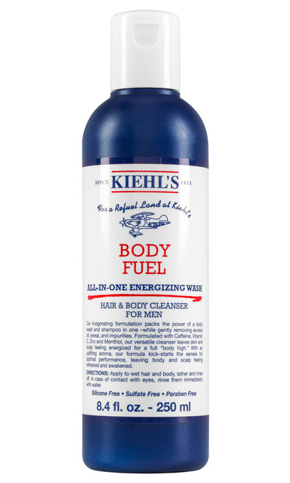 "<strong>Body Fuel All-inone Energizing Wash for Hair</strong> & Body, $24, <a href=""http://kiehls.ca"" target=""_blank"">kiehls.ca</a>"