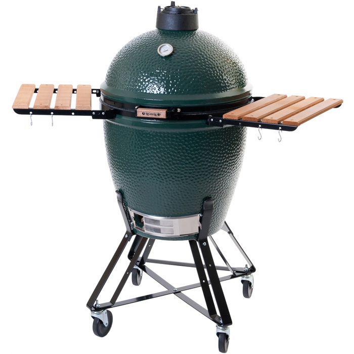 "<strong>The Big Green Egg</strong>, from $400, <a href=""http://biggreenegg.ca"" target=""_blank"">biggreenegg.ca</a>"