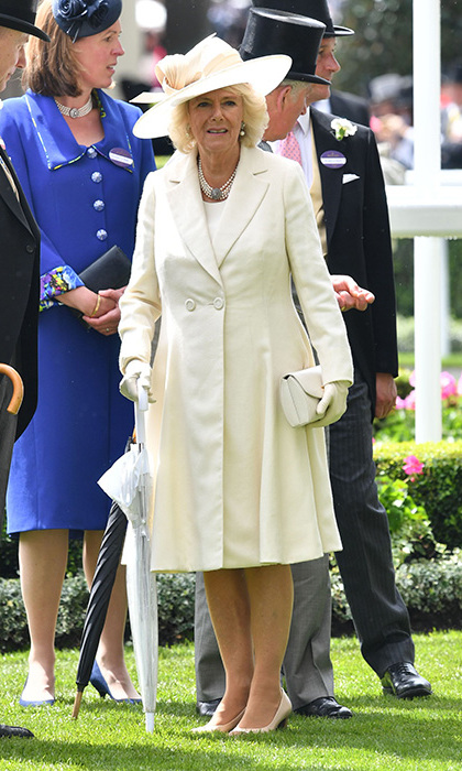 The Duchess of Cornwall on Day 2.