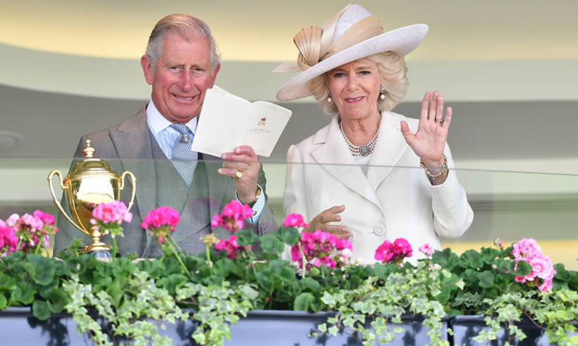 Prince Charles and Camilla hoped to pick a winner on day two of the five-day equestrian extravaganza. 