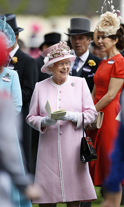 Her Majesty was thrilled to see the royal turnout for the second day of Ascot events. 