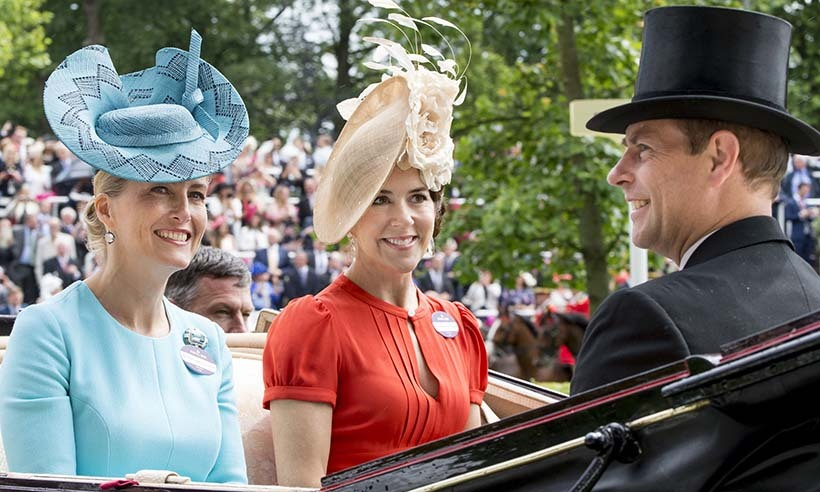 Sophie Wessex and Princess Mary of Denmark made a fashionable mark in oversized hats. 