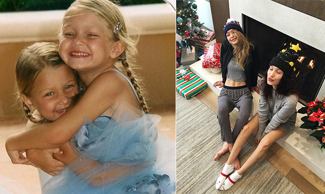 Stunning sisters Gigi Hadid and Bella Hadid were always close, from their days as pint-sized, lookalike ballerinas to the willowy pair's trips down fashion's hottest runways. 