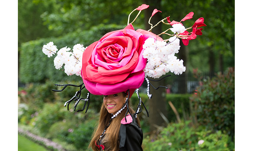 This guest made a rosy impression on day two of Ascot 2016. 