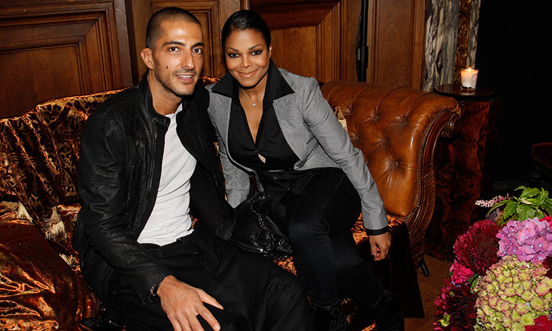 Janet announced her pregnancy news in April.
