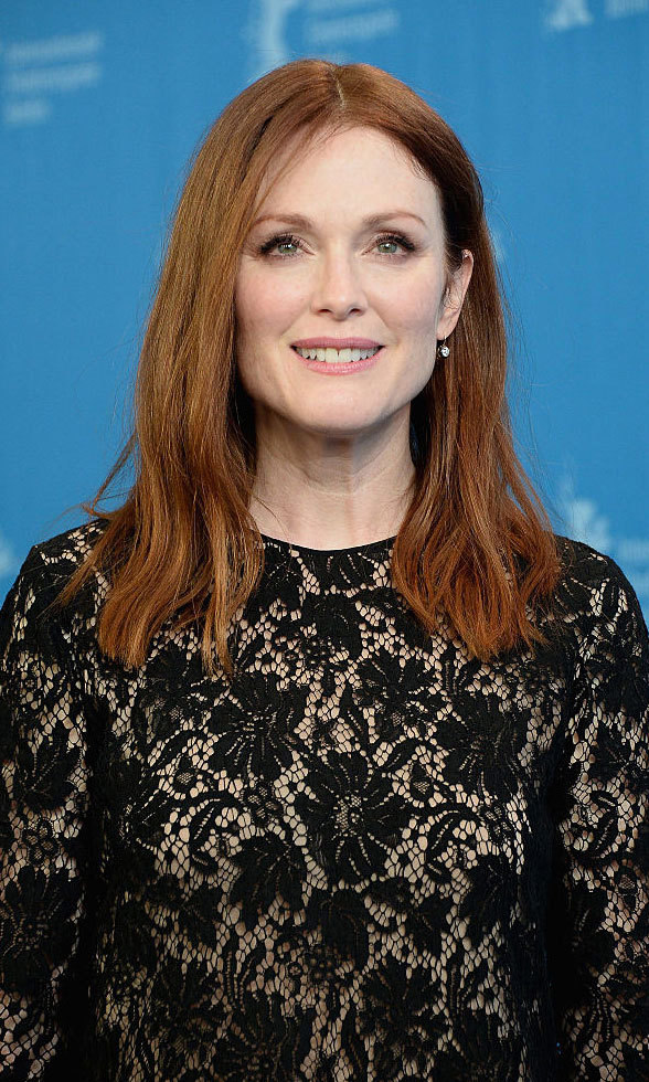 Julianne Moore tweeted her concern over gun violence.