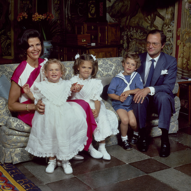 The parents of three have enjoyed a close relationship with each of their children: Victoria, Carl Philip and Madeleine. All three of their heirs are now married and have welcomed children themselves, giving Carl and Silvia five grandchildren. 