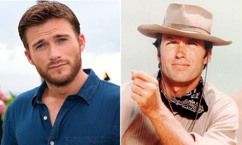 <h2>Clint and Scott Eastwood</h2>