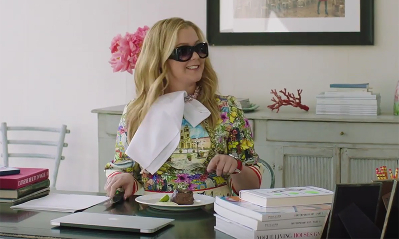 Amy Schumer and Anna Wintour switch jobs for 'Vogue' feature