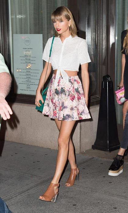 Showing off her signature ladylike style on an outing in New York.