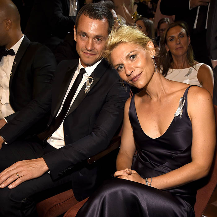 Hugh Dancy and his wife Claire Danes enjoyed a date night at the 70th Annual Tony Awards at the Beacon Theatre in New York. 