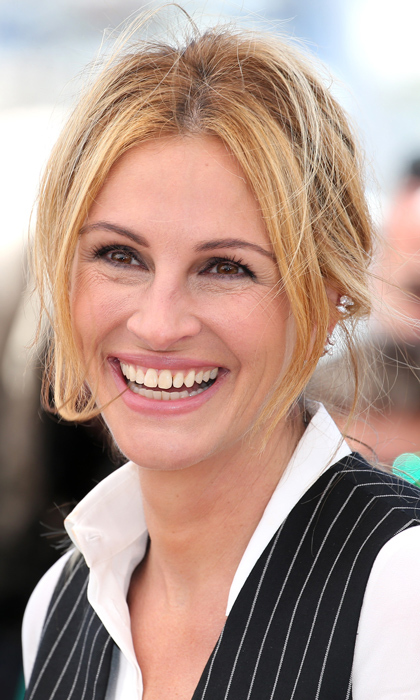"Julia Roberts hired celebrity yogi Kirschen Hagenlocher for an intense three-month training session while filming <em>Eat Pray Love</em> in 2010. ""It's supposed to become part of your natural composition: non-grasping, non-hoarding, non-clinging — in a spiritual sense and in a literal sense, like cleaning out your closet and letting go of things you know you're not going to wear anymore,"" she told <em>InStyle</em> about her practice.