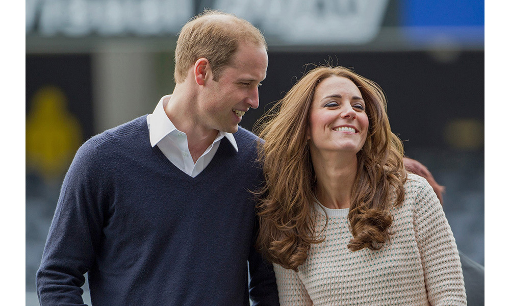 "<p>Kate collapsed in hysterics during a casual engagement of the couple's tour of New Zealand in 2014 – taking part in a ""Rippa Rugby"" tournament with the All Blacks.</p>