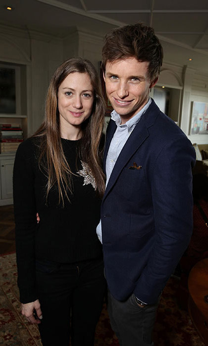 Eddie admitted to being intimidated by the prospect of becoming a father.