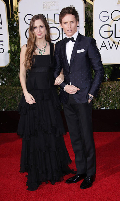 The couple announced their happy news on the red carpet at the Golden Globes in January.