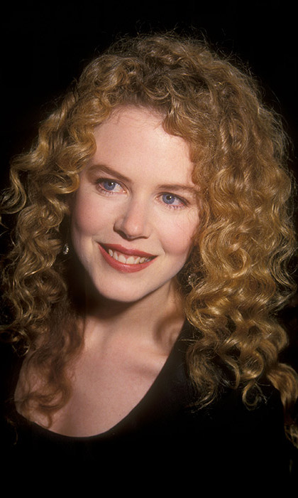 The mother-of-four firmly established herself as a beauty icon the moment she first burst into the spotlight in the 1990s with her striking natural auburn curls. 
