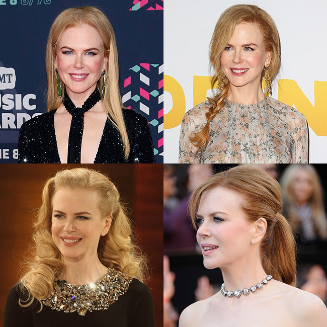 <p>Nicole Kidman never fails to turn heads both on and off the red carpet with her effortlessly chic hairstyles, whether she's rocking her natural curls or going for a poker straight finish.</p><p>We take a look at the Australian star's best ever hairstyles – click through for the full gallery… </p>
