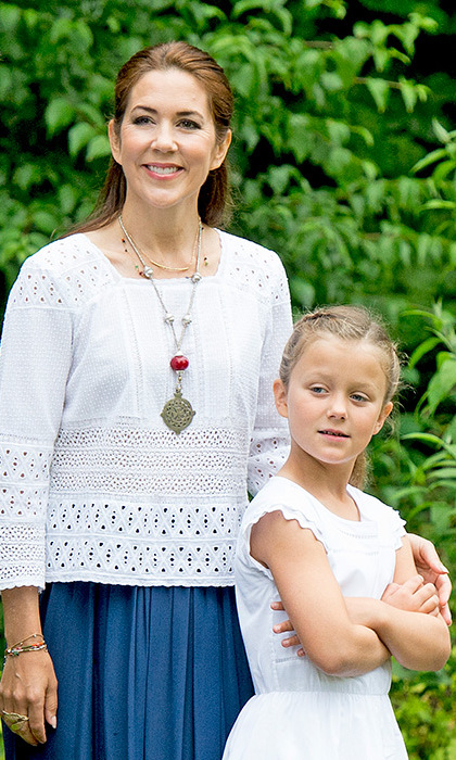 Princess Isabella is the elder daughter of Crown Princess Mary.