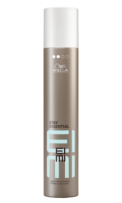 "<strong>Wella EIMI Stay Essential Light Crafting Hairspray</strong>, $17, at select salons, <a href=""chatters.ca"" target=""_blank"">chatters.ca</a>"