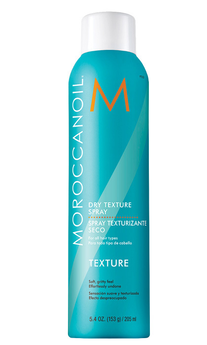 "<strong>Moroccanoil Dry Texture Spray</strong>, $30, <a href=""http://moroccanoil.ca"" target=""_blank"">moroccanoil.ca</a>"