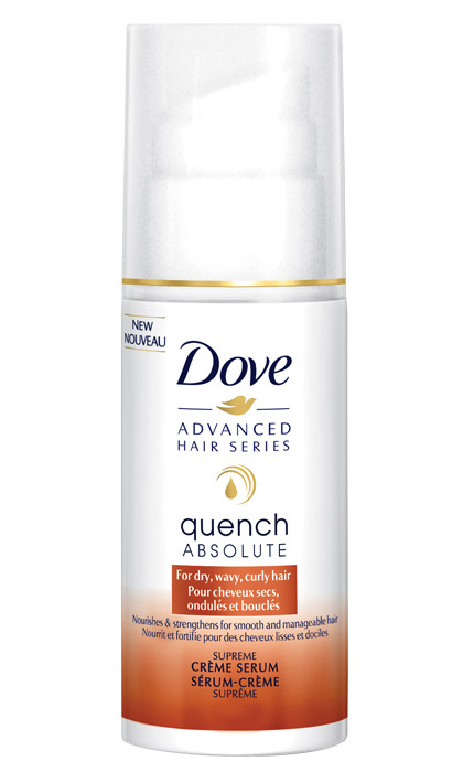 <strong>Dove Quench Absolute Supreme Crème Serum</strong>, $12, at drugstores and mass-market retailers