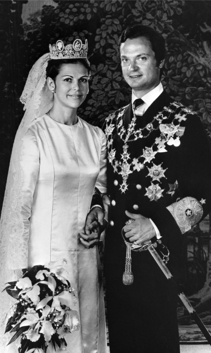 The Swedish monarchs celebrated their 40th wedding anniversary on June 19, 2016.