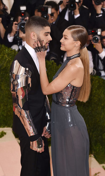 Gigi and Zayn were one of the best dressed couples at the 2016 Met Gala in New York. 