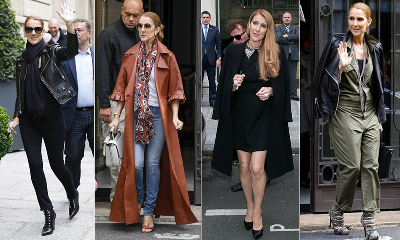 Last month, Celine Dion touched down in Europe ahead of her sold-out tour of France and Belgium. 