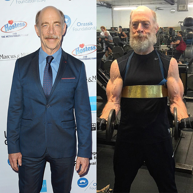 <h3>J.K Simmons for <em>Justice League</em>