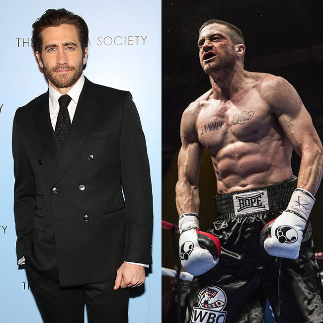 <h3>Jake Gyllenhaal for <em>Southpaw</em>