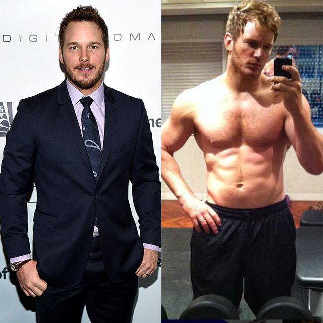 <h3>Chris Pratt for <em>Guardians of the Galaxy</em>