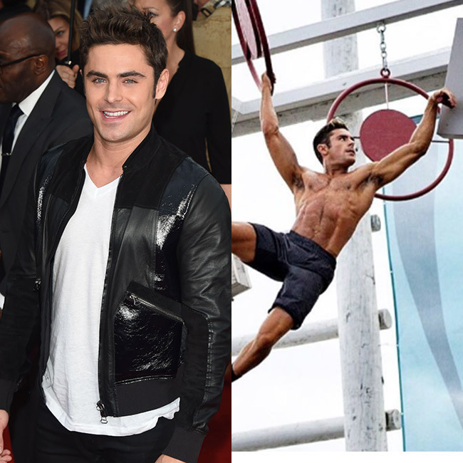 <h3>Zac Efron for <em>Baywatch</em>