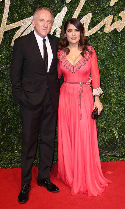 <h3>Salma Hayek and Francois-Henri Pinault