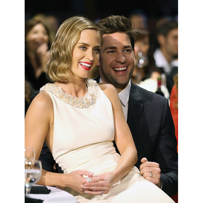 <h3>Emily Blunt and John Krasinski