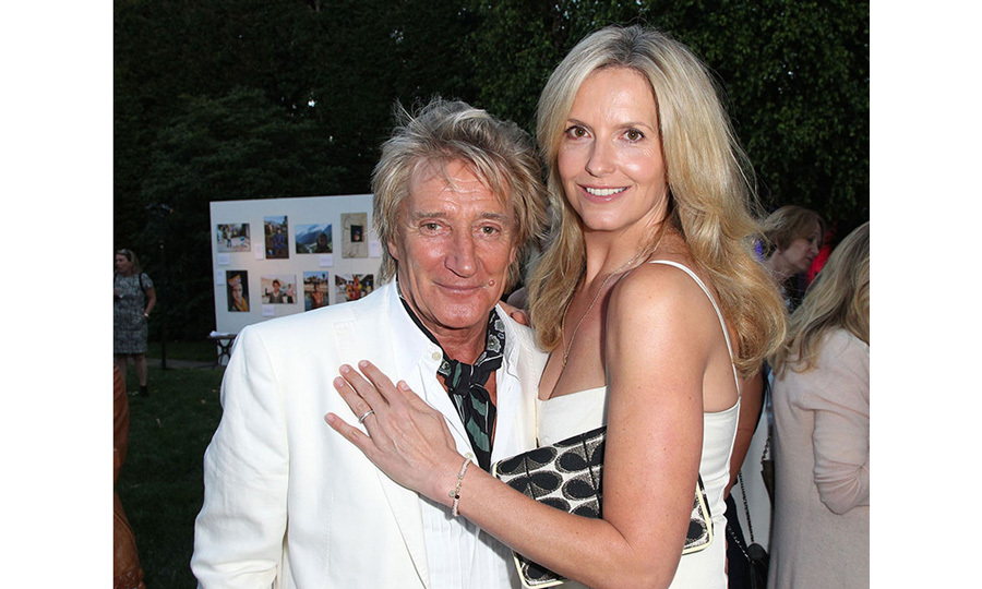 <h3>Rod Stewart and Penny Lancaster