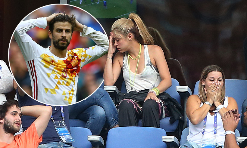 Shakira And Sons Watch Emotional Final Game For Gerard
