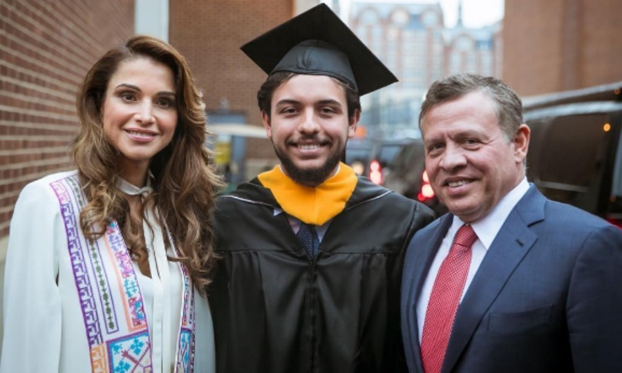 The prince graduated from Georgetown University with his parents by his side.