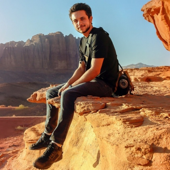 Crown Prince Hussein is the oldest child of the King and Queen of Jordan.
