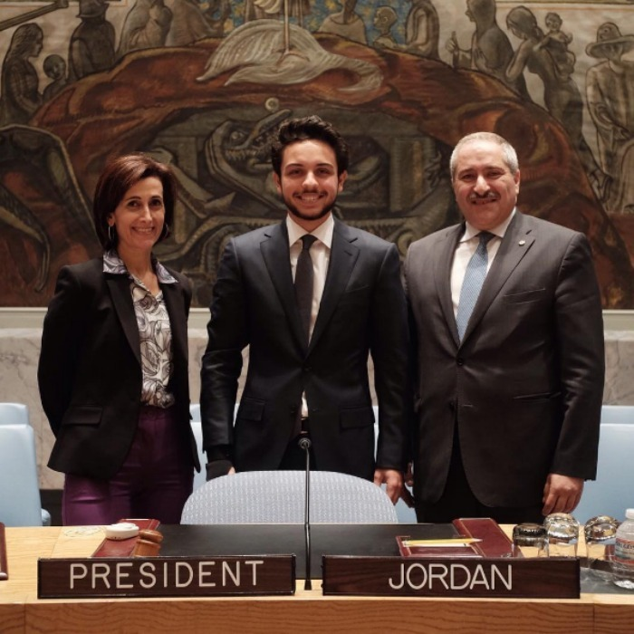 The future king made U.N. history in 2015 becoming the youngest person to ever preside over the Security Council.