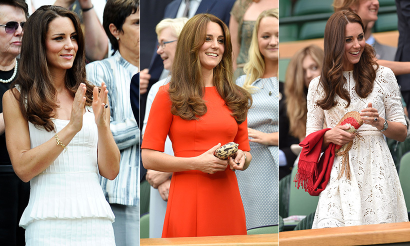 The Duchess of Cambridge always wins the style stakes at Wimbledon. 