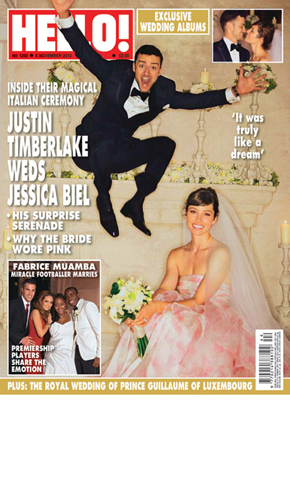 <h3>Justin Timberlake and Jessica Biel