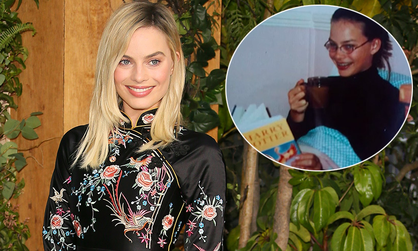 Margot Robbie declared her love for <i>Harry Potter</i> while promoting her film <i>Tarzan</i> on <i>Jimmy Kimmel Live!</i>