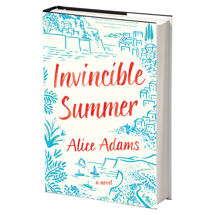 <h3>INVINCIBLE SUMMER<br>by Alice Adams</h3>