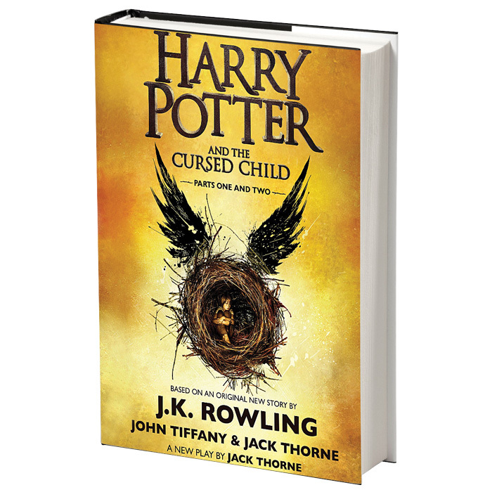 <h3>HARRY POTTER AND THE CURSED CHILD<br>by J.K. Rowling</h3>