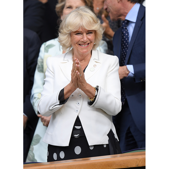 The Duchess of Cornwall watched Andy Murray breeze through to the next round on Thursday (Jun. 30). 