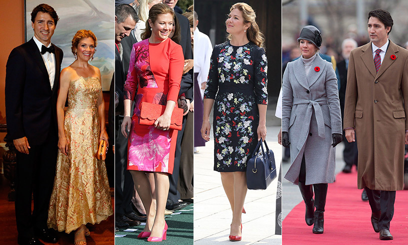 Canadian designers are always in style for Sophie Grégoire Trudeau, and with their help she's leaving her sartorial mark at every public appearance she makes. From formal galas in Europe to the Oval Office, the mother of three has collaborated with her very fashionable friend Jessica Mulroney to inject her wardrobe with a heady blend of tailored chic, pops of colour, playful accessories and odes to homegrown designers. Click through our gallery to see Sophie's best looks...