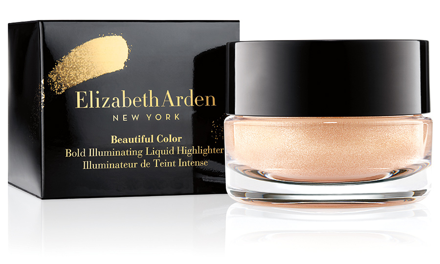 <p><b>Elizabeth Arden Limited Edition Beautiful Color Bold Illuminating Liquid Highlighter, $32, at Hudson's Bay, London Drugs and Shoppers Drug Mart</b></p>