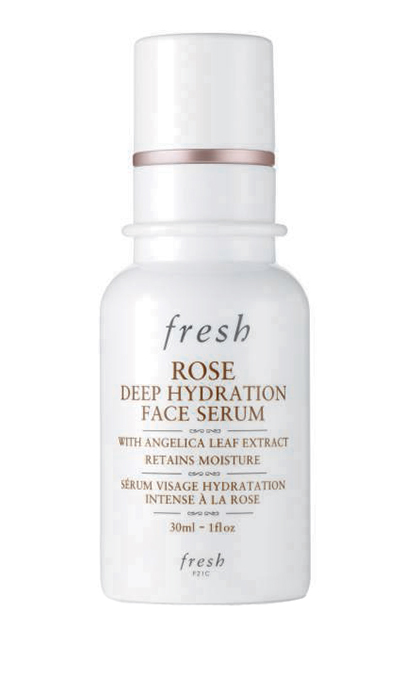 "<p><b>Fresh Rose Deep Hydration Face Serum, $65, at Sephora and <a href=""http://www.sephora.ca"" target=""_blank"">sephora.ca</a></b></p>